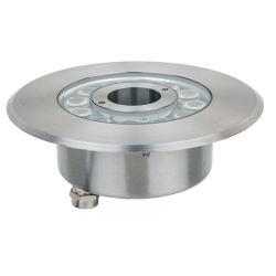 Ring 6W und runder versenkbarer RGB Farben-Brunnen LED des Form-Pool-DMX
