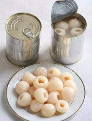 Свежие фруктовые консервы Lychee здравоохранения в густой сироп