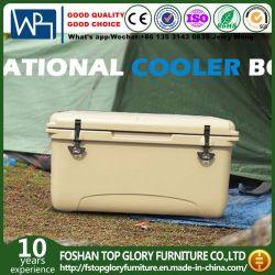 Rotomolded Polyéthylène isolé de plein air du boîtier de refroidisseur de pique-nique sac à lunch box de préservation de la chaleur des aliments (TG-R05) 65L