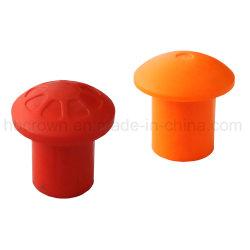 Barres d'armature de champignons en plastique durable personnalisé capuchon de protection