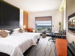 중국 단단한 나무 판매를 위한 현대 호텔 침실 가구 한 벌