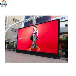 Location de P6 HD écran LED de plein air de bord pour la publicité stade mur vidéo