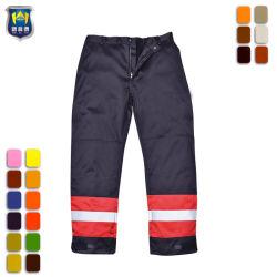 Ignifuge résistant aux huiles Knee Pad Pantalon Pantalon de travail