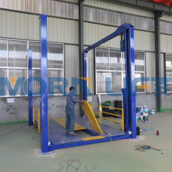 Morn Hydraulic 4 Post Truck Car Parking Lift in Garage Con 1m 2m 3m 5m 6m 10m 20m altezza