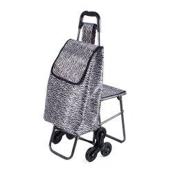 El hierro Compras Carrito de compras la bolsa con silla