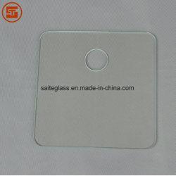 Salle de bains de l'OTI personnalisé de graisse corporelle balance de pesage électronique Couvercle supérieur transparent en verre trempé