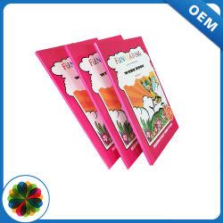 싼 간결은 4개의 색깔에 의하여 주문을 받아서 만들어진 종이표지 책 학생 책 인쇄를 달린다