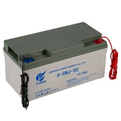 batteria ricaricabile acida al piombo del AGM IP65 del gel solare dell'alimentazione elettrica di 12V 50ah