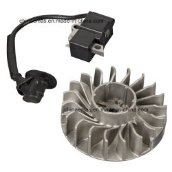 partes separadas de motosserra gasolina emas o sistema de ignição (MS361)