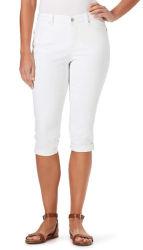 As mulheres 's Verão confortável soltas personalizado de lazer de moda de alta qualidade Novo Cotton White calça curta