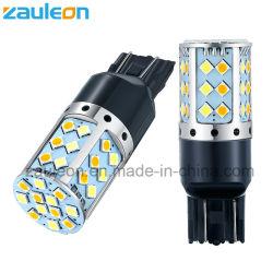 T20 7443 branco Âmbar de duas cores para a Luz da Sinaleira Direcional DRL Switchback Automotivo LED Lâmpada de substituição