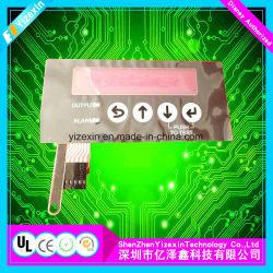 De Schakelaar van het membraan Elektronische Keycaps Pec met 5 Sleutels en Membraanfilter