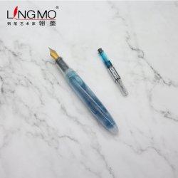 La penna di fontana su ordinazione dell'argento dell'oggetto d'antiquariato di marchio della nuova penna promozionale creativa dei prodotti ha reso personale