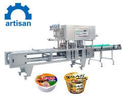 Tasse de nouilles linéaire automatique Capsule Machine de remplissage et de l'étanchéité liquide