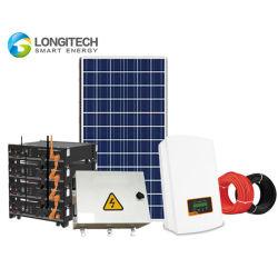옥상 Microgrids PV 전원 시스템 1000W 2000W 3000W 휴대용 태양 발전기