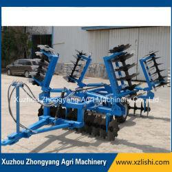 L'agriculture herse à disques repliables de la machine moyenne