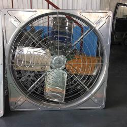 셔터 축류 팬이 있는 공장 온실 공기 순환 환기 장치 산업용 공기 추출기 팬