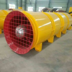 SDF (P) Tunnel Axial Flow Gegenlauf Frequenzumwandler Ventilation Fan