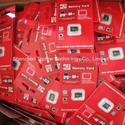 Оптовая торговля основную часть Micro 8 ГБ16ГБ 32ГБ карта памяти SD емкостью 64 ГБ TF карты памяти красный розничной упаковке