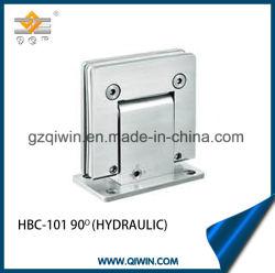 304ステンレス鋼のガラス適切な油圧シャワーのヒンジ(HBC-101)を囲むガラス