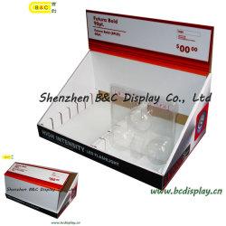 Pantalla de papel, Pop Caja, Cartón Contador PDQ, Papel PDQ Caja Display (B & C-D047)