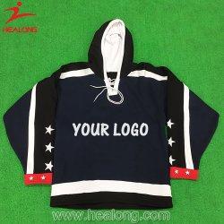 Healong Sportkleidung-Entwurf irgendeine Firmenzeichen-Großverkauf-Eis-Hockey-Strickjacke