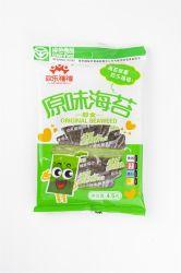 Faible teneur en calories 4.5g de fruits de mer instantanée en algues vertes