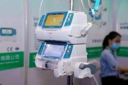 Micro automatique par voie intraveineuse péristaltique volumétrique ICU CCU ou pompe à perfusion d'écran tactile