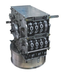 Mechanische Totalisator zct-03 van de machine