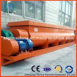 De horizontale Dubbele Mixer van de Peddel van de Schacht van China