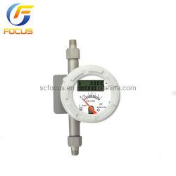 高精度デジタル天然ガス流量計金属チューブロータメーター