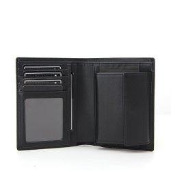Длинный кожаный кошелек карт RFID тонкий кожаный кошелек оптовой мужчин Wallet