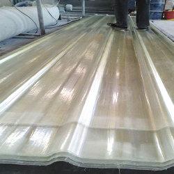 Produits de toiture transparent GRP fibre composite PRF Feuille de fibre de verre