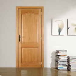 Top 2 arco interior del panel de madera maciza puertas Quick Ship