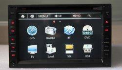 شاشة Isun 2 DIN IN IN-Dash HD 7 بوصة 800*480 Digital Touch شاشة السيارة دي في دي GPS فولكس فاجن جاتا / Passat / Bora / Golf/B5 (TS7982)