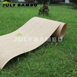 0,6Mm de alta qualidade para cobertura de folhear Bambu flexível de armários de cozinha