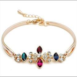 Het unieke Koper van het Kristal nam Gouden Armbanden fq-B-1005 toe
