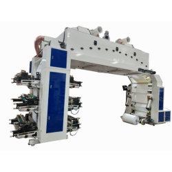 سرعة البيع العادية 6 ألوان Changhong العلامة التجارية Flexography آلة الطباعة اضغط على لفّة ورق أكواب الورق