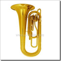Tuba que marcha dominante inoxidable del Bb del pistón de acero (MTU9620)
