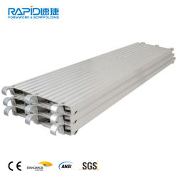 ANSI-Aluminiumbaugerüst-Gestell-Bodenbelag-Binder-konkrete Metallplattform für Verkauf