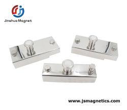 900kgプレキャストコンクリートの企業のための磁気型枠のコンポーネントを閉める具体的な磁石ボックス