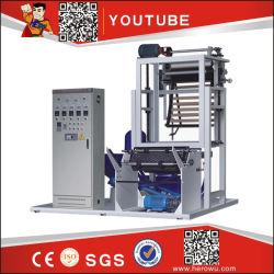 L'étirement à fermeture ZIP haute vitesse mourir biodégradable rotatif à trois couches de film de l'extrudeuse rétractable machine de soufflage PE PP PVC Prix film plastique machine de soufflage