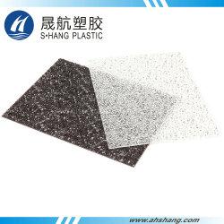 Chinesisches Hersteller-Polycarbonat geprägter Plastikvorstand