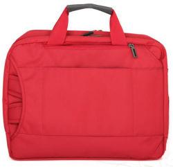 Sac à main d'ordinateur avec le tissu de nylon Fashion couleur rouge (RS-NL04)