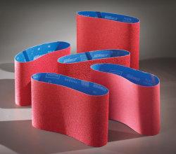 Les courroies de ponçage de plancher/courroies abrasives/zircone chiffon abrasif/Céramique abrasifs/étroite ceinture