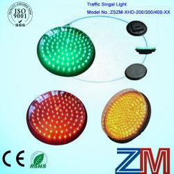 En12368 certificadas Red & Amber & LED verde piscando o módulo da luz de tráfego com lentes transparentes