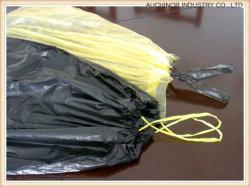 Heavy Duty coulisse Drawtape ordures en plastique Sac à ordures de la corbeille