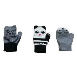 Kind-Winter-Form-warmer Neuheit-Jacquardwebstuhl-Handschuh