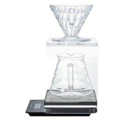 Акрил стойка с поддон для V60 Dripper кофе