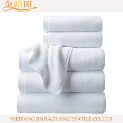 100% algodón blanco toalla Toalla para ropa de cama de hospital Hotel